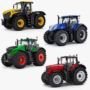 farm tractor fastrac 1050 3D