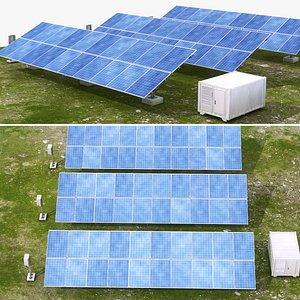 3D solar power model