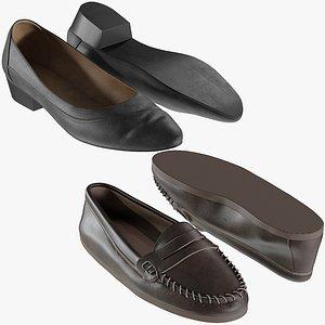 realistic heels collections 3D model