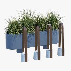3D Baia elements three model