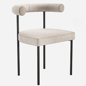 3D simon james kashmir chair model