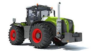 3D farm tractor model