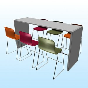 OFFICE CHAT TABLE PP 01 model