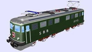 3D model ae electric locomotive