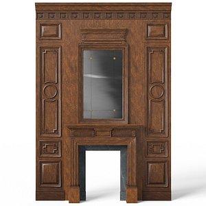 3D model Fireplace 01 08