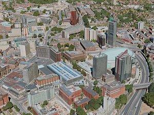 3D leeds city model