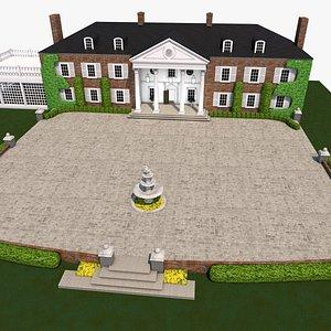 manor 3D model