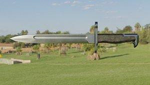 m1 bayonet model