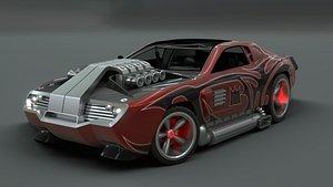 3D model hot wheels