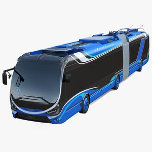 3D iveco crealis trolleybus simple