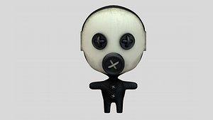 doll voodoo 3D model