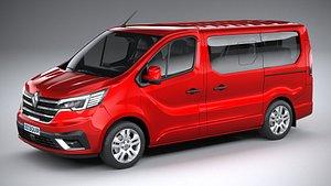Renault Trafic Van L1H1 passenger 2021 3D