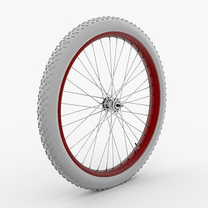 3D vintage wheel model
