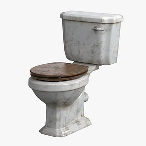 3D Traditional Toilet