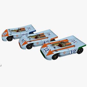race porsche 908 3D model