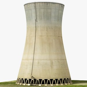3D nuclear tower plant