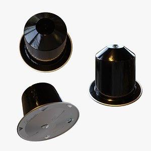 3D model Nespresso Ristretto Capsules