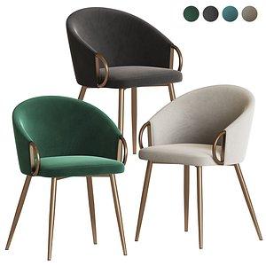 claire lumisource chair 3D model