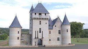 3D chateau du rivau