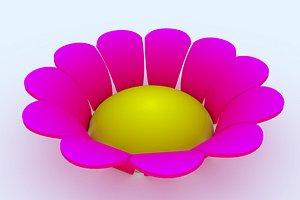 3D flower 1