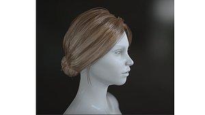 hair hairstyle haircut 3D model
