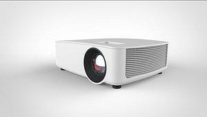 projector tv 3D model