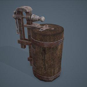 3D Blacksmith Vise
