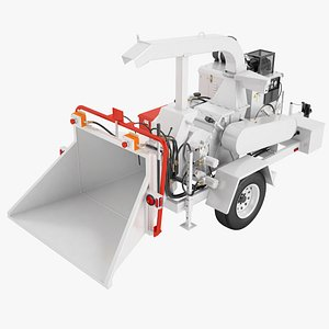 3D Auto Feed Brush Chipper 04