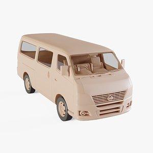2011 Nissan Urvan 3D