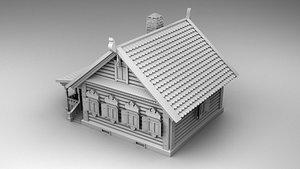 house russian 3D model
