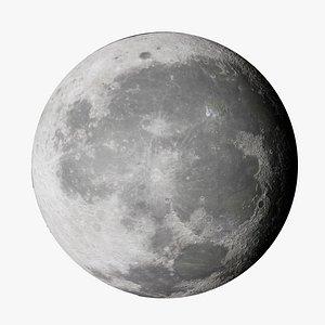 3D model The Moon