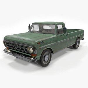 Ford Pickup Car 3D model