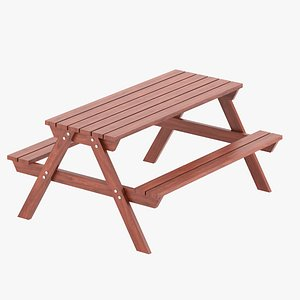 3D park table 03