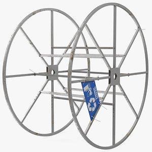 3D storage reel