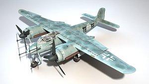 3D Focke-Wulf Ta154 Moskito