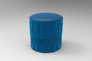 Fringes Stool 3D model