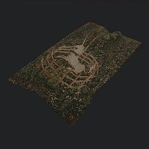 captivity tapestry 3D