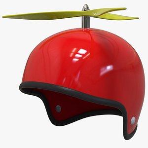 3D propeller helmet