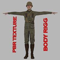 Warr II Soldier