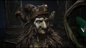 GoblinMage 3D model