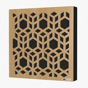 3D GIK Acoustics Impression Series 3D Cubes Acoustic Panel