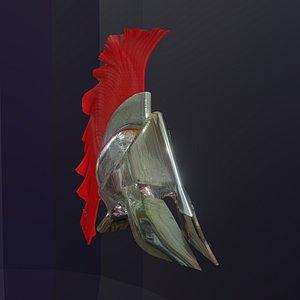 spartan helmet 3D