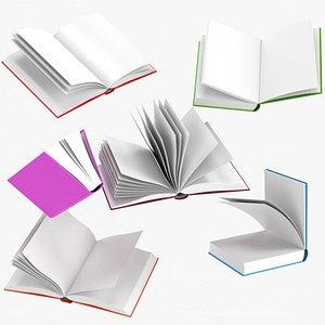 Open books composition 3D