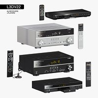 L3DV22G01 - av-receivers players rcs set