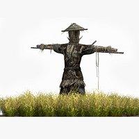 Rural scarecrow