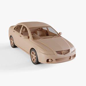 3D model 2003 Honda Accord Euro