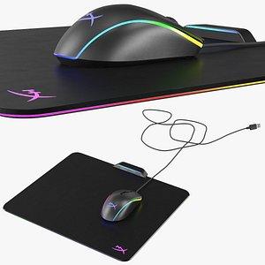 hyperx pulsefire surge mouse 3D model