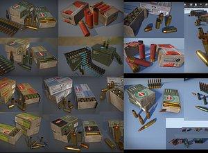 Ammo Set 3D model