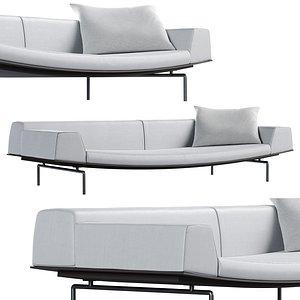 sumo sofa living divani 3D