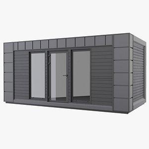 3D portable cabin model